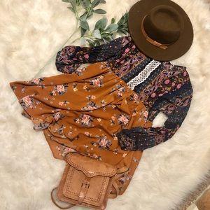 Boho hippie umgee dress